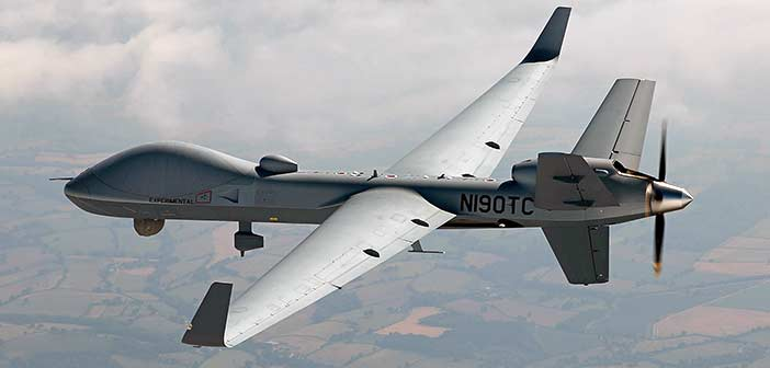 General Atomics MQ 9B Sky-Guardian Drone