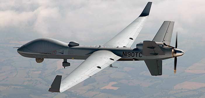 General Atomics MQ 9B Sky-Guardian Drone