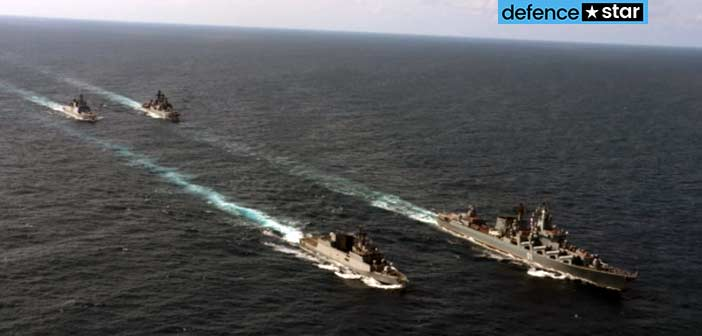 Indian Navy Russian Navy Military Exercise