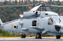 Indian Navy MH60 Romeo Seahawak helicopter