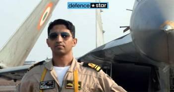 Indian Navy Pilot Nishant Singh Mig 29K