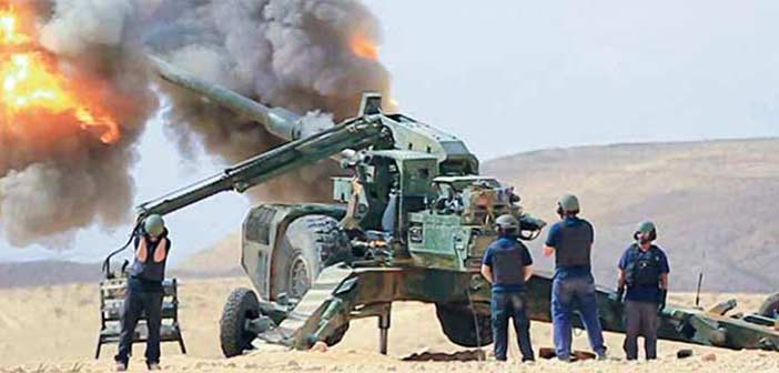 Elbit Systems ATHOS Artillery Gun