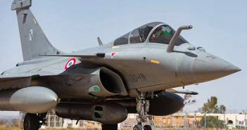 Rafale fighter.