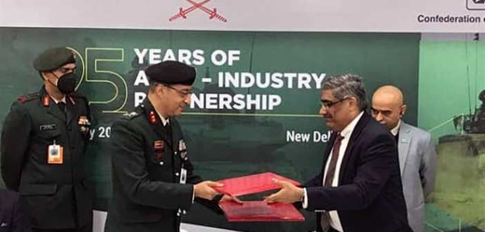 Indian Army-SIDM MoU.