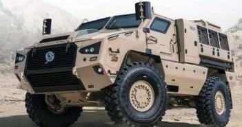 Bharat Forge Kalyani M4 Vehicle