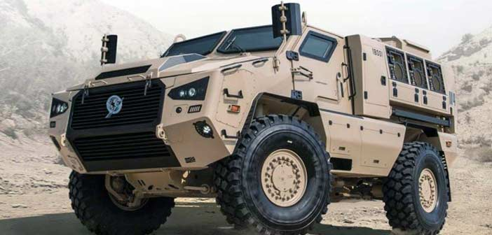Bharat Forge Kalyani M4 Vehicle
