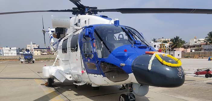 HAL's Advanced Light Helicopter.