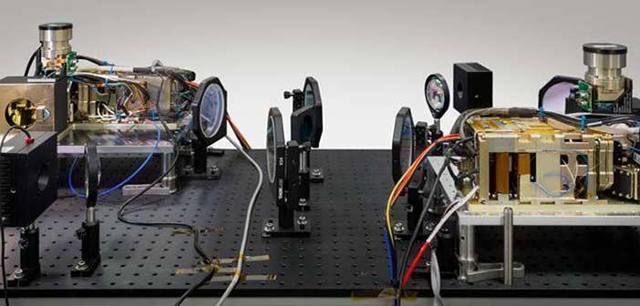 GA-EMS MQ-9 Reaper Space Optical Link