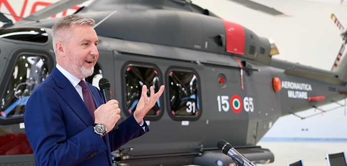 Leonardo HH-139B Helicopter, Italy Air Force