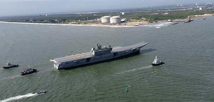 IAC-1 INS Vikrant Sea Trial