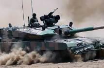 Indian Army DRDO Arjun Mk-1A MBT.