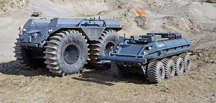 Rheinmetall Mission Master Unmanned Vehicles.