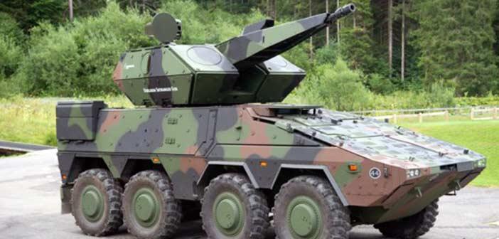 Rheinmetall Skyranger Air-Defence System.