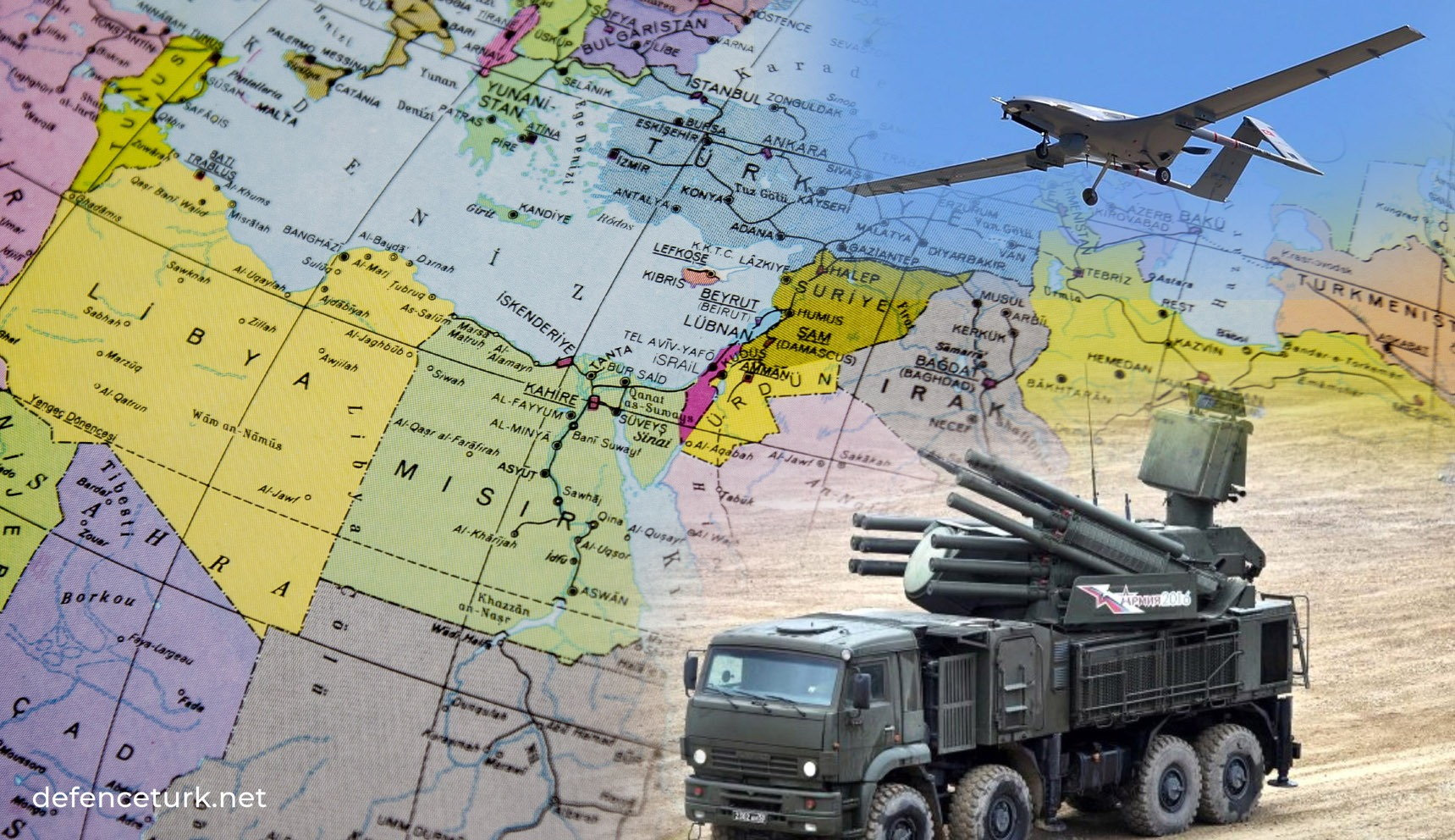 Rus medyası: Pantsir- S1 Libya'da Bayraktar TB2'nin şöhretine ...