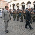 Cérémonies de commémoration des 70 ans de la libération de la ville de Lyon en présence du ministre de la défense, monsieur Jean-Yves Le Drian