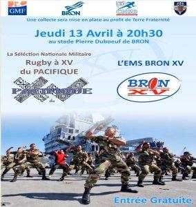 Match du XV du Pacifique @ Stade Pierre Duboeuf, Bron