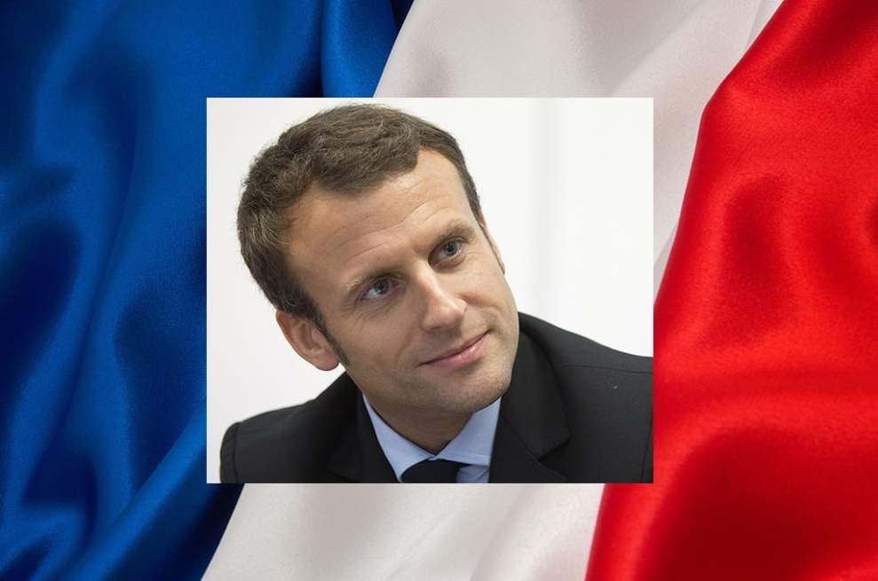 Emmanuel Macron, candidat d'En Marche ! à l'élection présidentielle de 2017