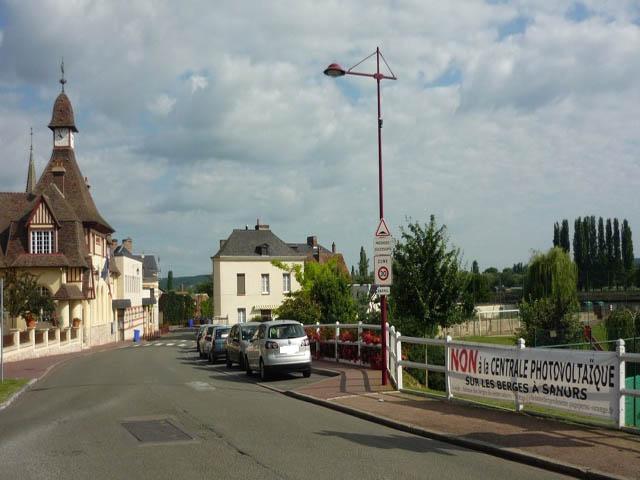 Dfense Des Berges De Seine Sahurs La Bouille Moulineaux