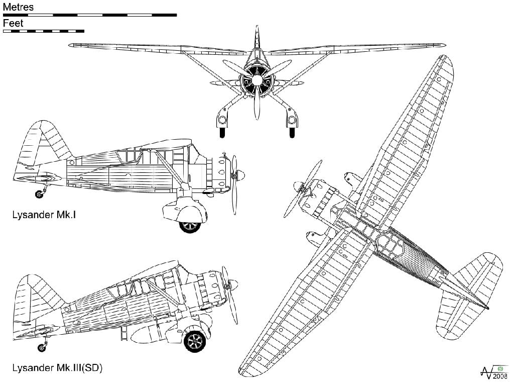 Classic Aircraft Westland Lysander
