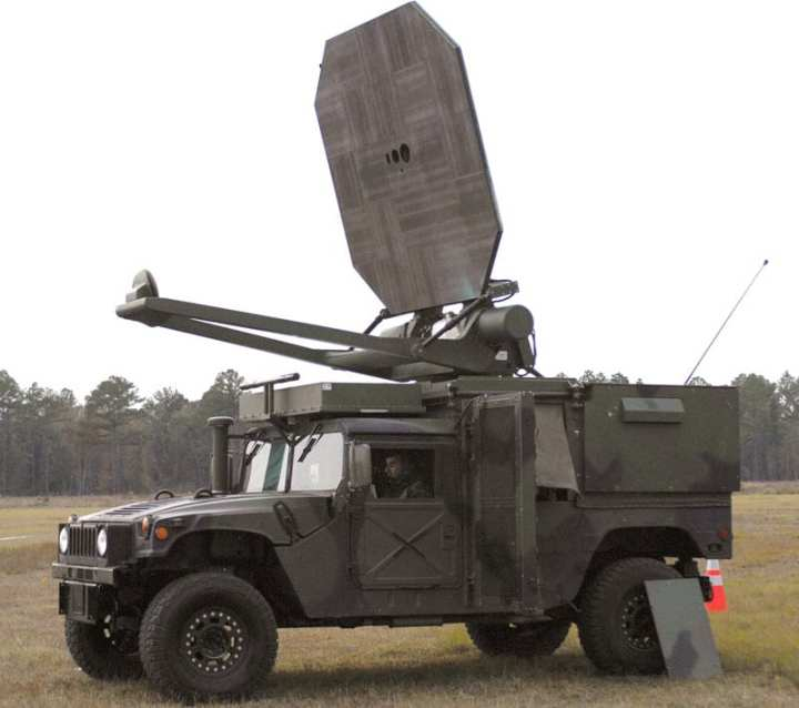 Airmen from the 820th Security Forces Group evaluating the Active Denial System at Moody Air Force Base, Ga. ADS is a nonlethal weapon designed to engage and repel human targets by projecting a beam of energy that creates an intolerable heating sensation on the skin. Photo by Airman 1st Class Gina Chiaverotti.