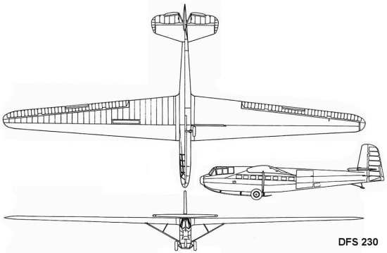 DFS 230 Assault Glider