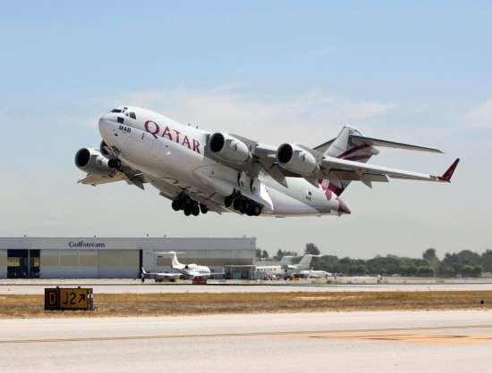 Qatari C-17 Globemaster III