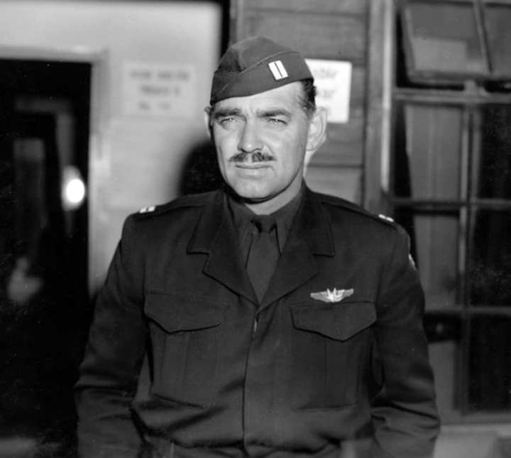 Actor Clark Gable Served In Uniform, Flew Combat Missions