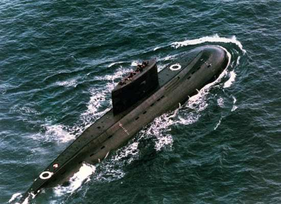 Iranian Kilo-Class Submarine