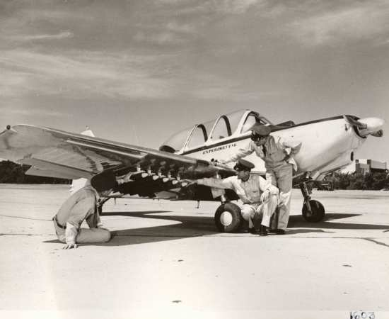 A Temco T-35 Buckaroo, one of the aircraft tested by the Air Force in the 1950s for the COIN Role before interest waned. Temco photo via Robert F. Dorr.