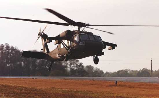 The UH-60M Black Hawk program got $1.25 billion in funding for 74 more aircraft.  Photo courtesy of Sikorsky.