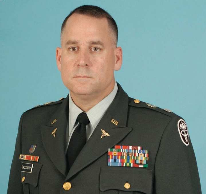 Col. Kevin T. Galloway, U.S. Army Pain Management Task Force. U.S. Army photo.