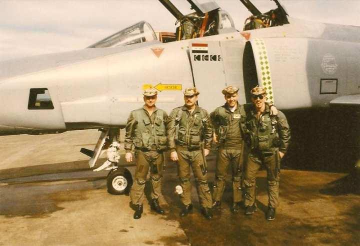 Gulf War 20th Rf 4c Phantom Ii In Desert Storm Defense