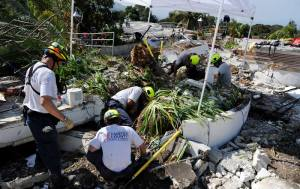 Fairfax Co. personnel search Haiti rubble