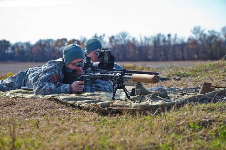 XM2010 sniper rifle