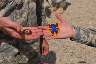 Challenge coins Afghanistan