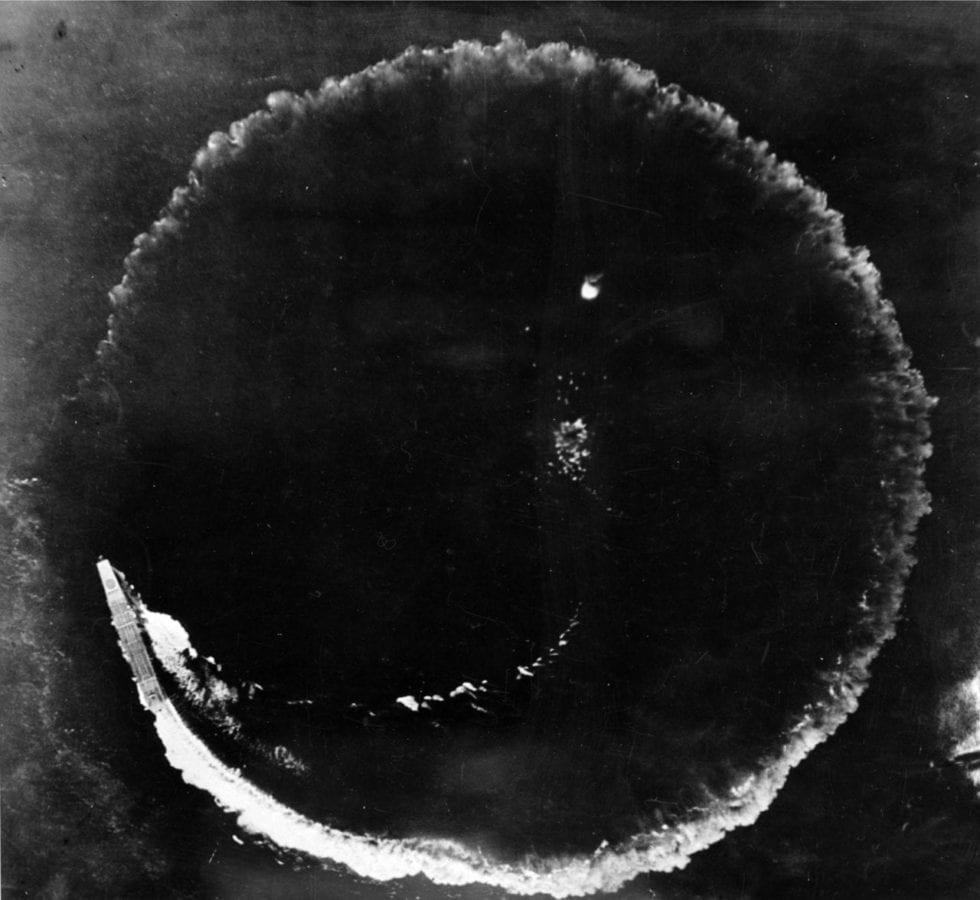 Soryu Dodges B-17 Bombs