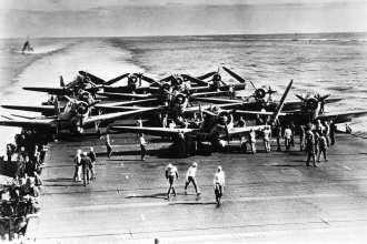 Torpedo Squadron 6 TBD-1 Devastators