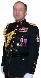 Anders Behring Breivik self portrait