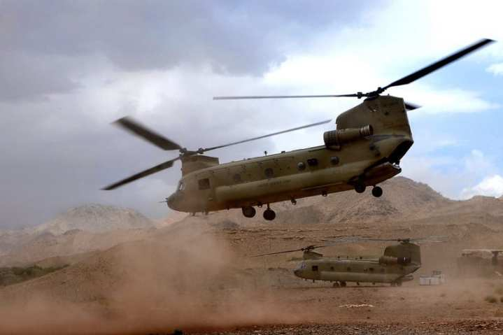 CH-47F Chinook Afghanistan