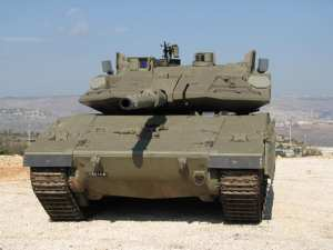 Merkava with Trophy APS