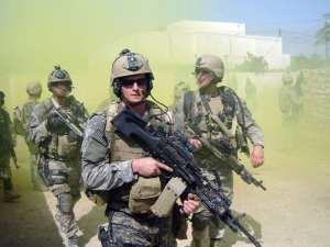 Michael Monsoor in Iraq