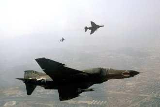 F-4E Phantom IIs