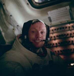 Neil Armstrong lunar module Eagle