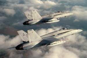 F/A-18 Hornets