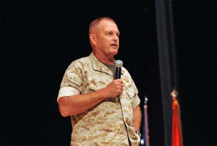 Maj. Gen. Raymond Fox TECOM CG