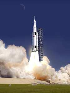 NASA SLS launch artist's conception