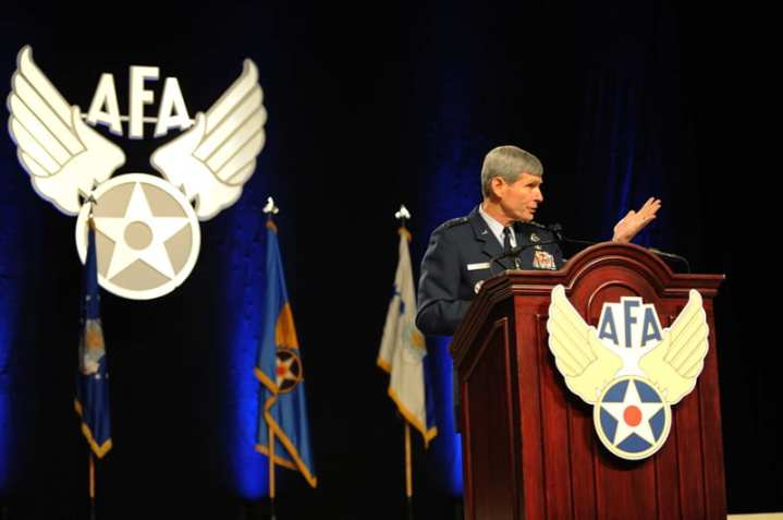 Schwartz speaks to AFA