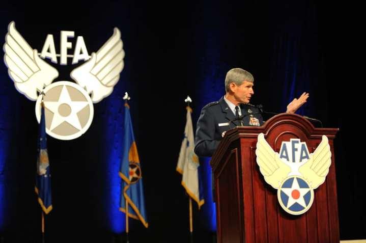 Schwartz speaks to AFA