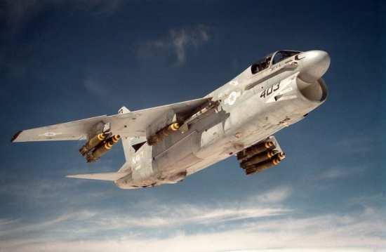 Attack Squadron 72 (VA-72) A-7E Corsair SLUF