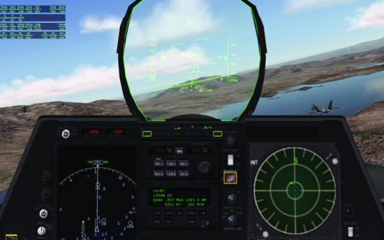 Gaming technology/flight simulation software used for interactive military training